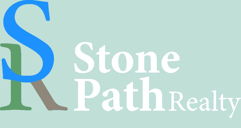 Stone Path Realty Logo (White)